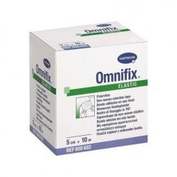 Лейкопластырь гипоаллергенный, Омнификс р. 5смх10м №1 арт. 900602 эластик из нетканого материала белый