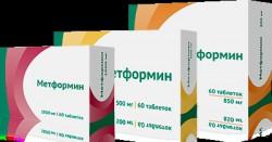 Метформин, табл. 850 мг №60