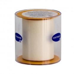 Пластырь фиксирующий, Омнипор р. 5смх5м №1 арт. 900552 на нетканой основе гипоаллергенный для щадящей фиксации белый пласт. упаковка