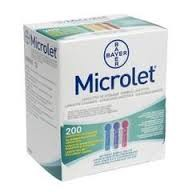 Ланцет стерильный, №200 Микролет