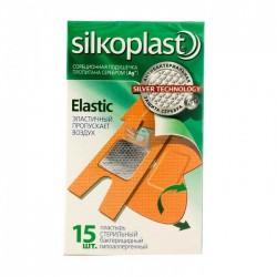 Лейкопластырь бактерицидный, Силкопласт №15 эластик